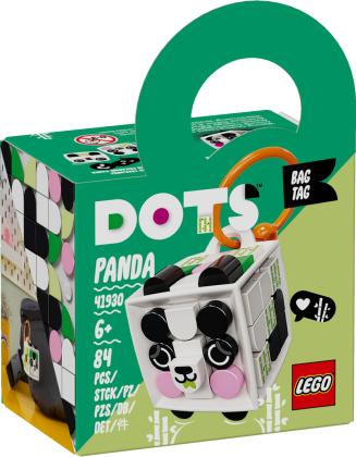 Taschenanhänger Panda - Lego Dots, 84 Teile,