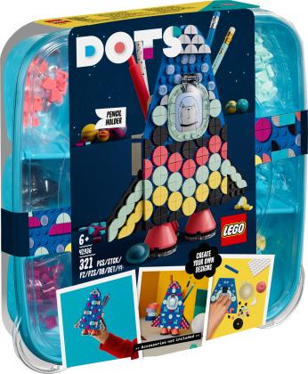 Raketen Stiftehalter - Lego Dots, 321 Teile,