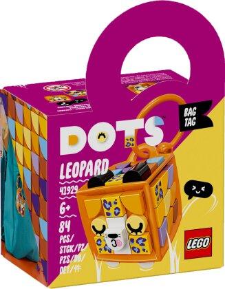 Taschenanhänger Leopard - Lego Dots, 84 Teile,