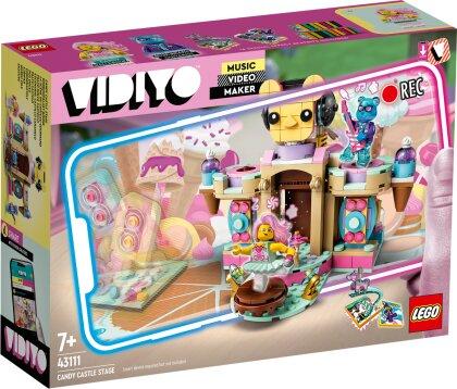 Candy Castle Stage - Lego Vidiyo, 344 Teile,