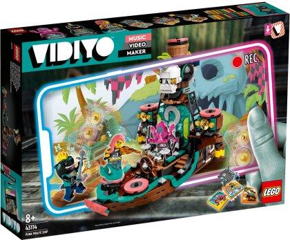 Punk Pirate Ship - Lego Vidiyo, 615 Teile,