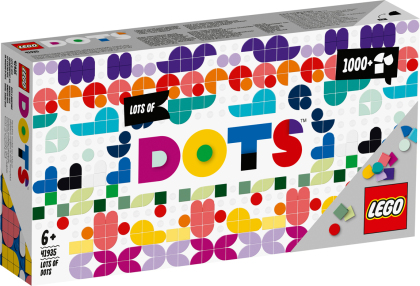 Ergänzungsset XXL - Lego Dots, 1040 Teile,