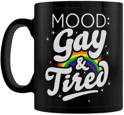 Mood: Gay & Tired - Mug
