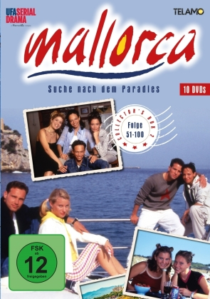 Mallorca - Suche nach dem Paradies - Collector's Box 2 - Folge 51-100 (10 DVDs)