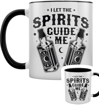 Let the Spirits Guide Me - Black Inner 2-Tone Mug