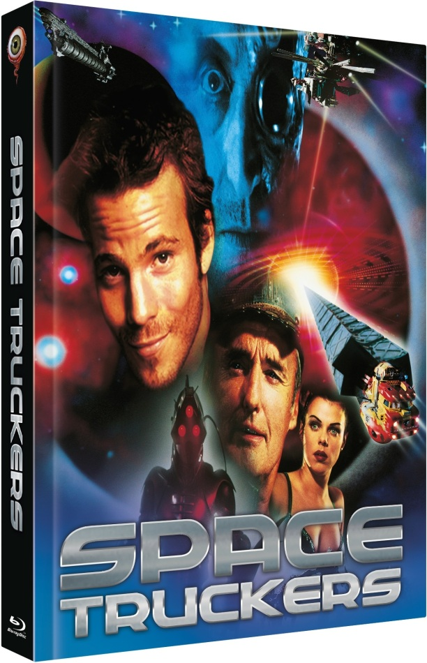 Space Truckers (1996) (Cover A, Limited Collector's Edition, Mediabook, Blu-ray + DVD)