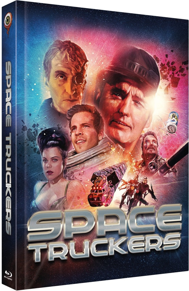 Space Truckers (1996) (Cover B, Limited Collector's Edition, Mediabook, Blu-ray + DVD)