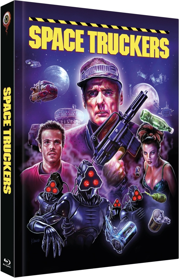 Space Truckers (1996) (Cover C, Collector's Edition Limitata, Mediabook, Blu-ray + DVD)