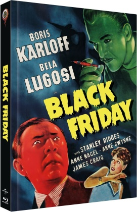 Black Friday (1940) (Cover A, Limited Collector's Edition, Mediabook, Uncut, Blu-ray + DVD)