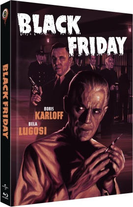 Black Friday (1940) (Cover C, Limited Collector's Edition, Mediabook, Uncut, Blu-ray + DVD)