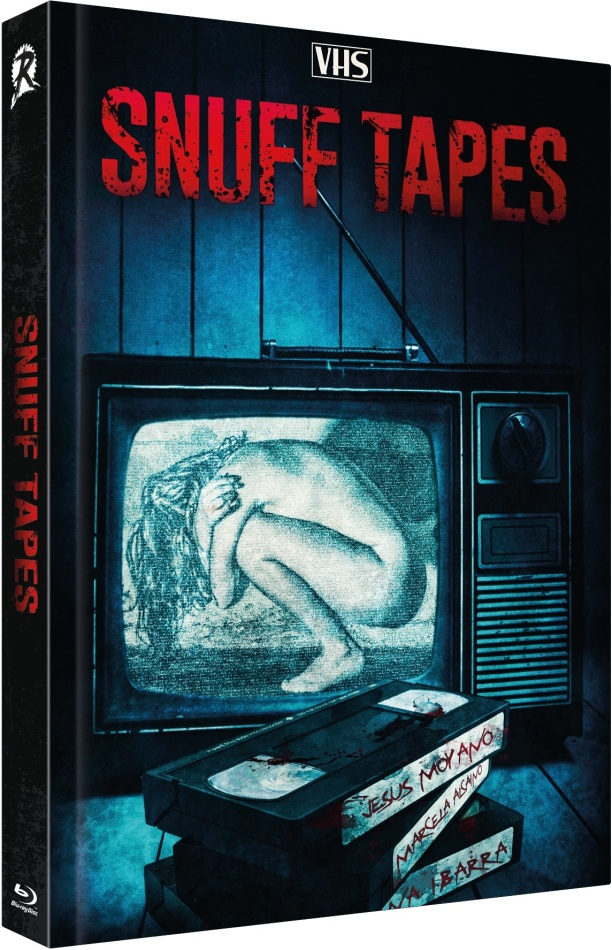 Snuff Tapes (2020) (Cover A, Limited Edition, Mediabook, Uncut, Blu-ray + DVD)