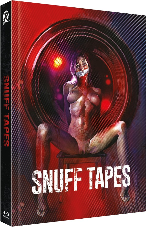 Snuff Tapes (2020) (Cover B, Limited Edition, Mediabook, Uncut, Blu-ray + DVD)