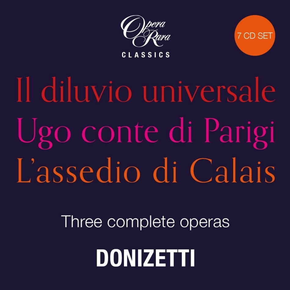 Lpo, David Parry, Alun Francis, Giuliano Carella & POL - Three Complete Operas (7 CDs)