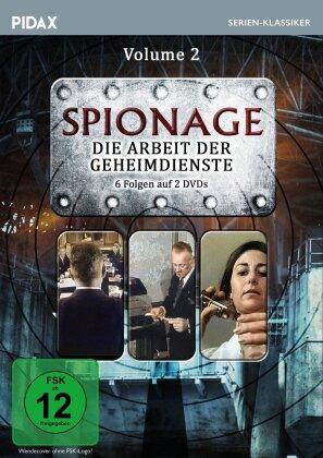 Spionage - Die Arbeit der Geheimdienste - Vol. 2 (Pidax Serien-Klassiker, 2 DVD)