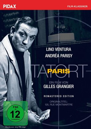 Tatort Paris (1959) (Pidax Film-Klassiker, Versione Rimasterizzata)