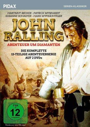 John Ralling - Abenteuer um Diamanten - Die komplette 13-teilige Abenteuerserie (1975) (Pidax Serien-Klassiker, 2 DVD)