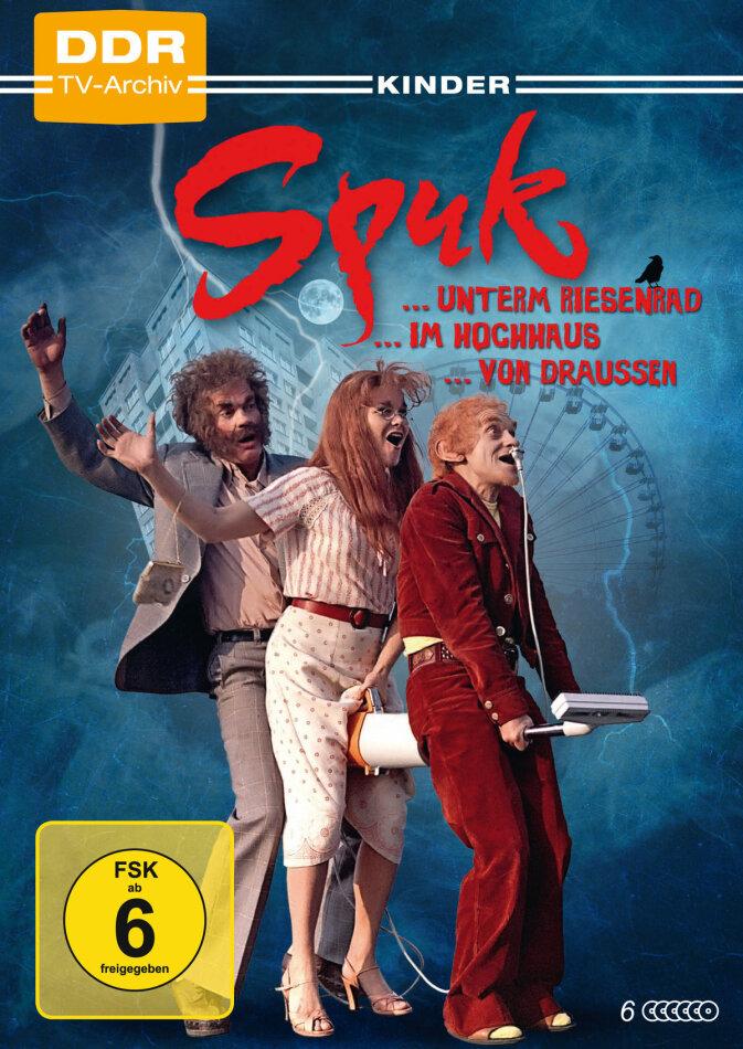 Spuk-Trilogie - Spuk unterm Riesenrad / Spuk im Hochhaus / Spuk von draussen (6 DVDs)