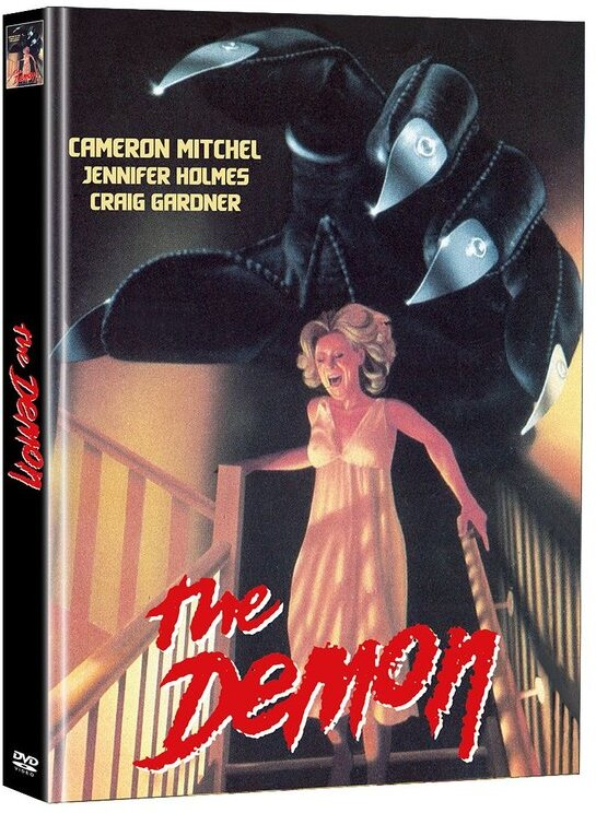 The Demon - Der Teuflische (1979) (Cover D, Edizione Limitata, Mediabook, Uncut, 2 DVD)