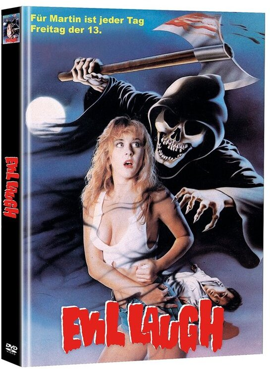 Evil Laugh (1986) (Cover B, Limited Edition, Mediabook, Uncut, 2 DVDs)
