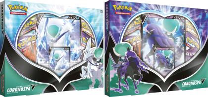 Pokémon Coronospa-V Kollektion August - Schimmelreiter oder Rappenreiter (Sammelkartenspiel) 1 Stück
