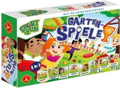 Sport & Fun - Garten Olympiade (8 in 1 Outdoor Spielset)
