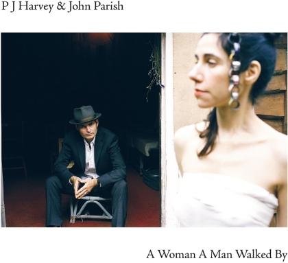 PJ Harvey & John Parish - A Woman Man Walked By (2021 Reissue, Island Records, LP)