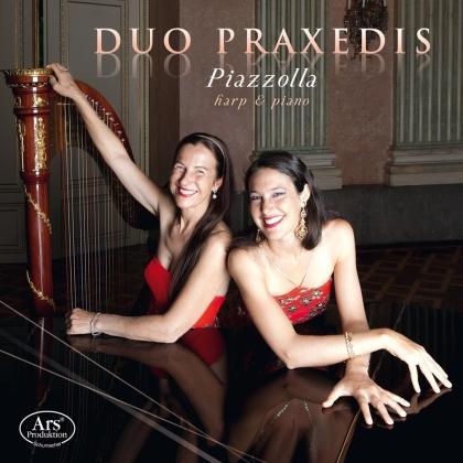 Duo Praxedis & Astor Piazzolla (1921-1992) - Fur Harfe & Klavier (2 CDs)