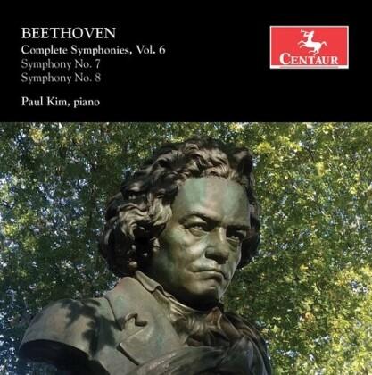 Ludwig van Beethoven (1770-1827) & Paul Kim - Complete Symphonies Vol. 6 For Piano
