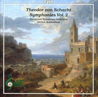 Theodor von Schacht (1748-1823), Gernot Schmalfuss & Evergreen Symphony Orchestra - Symphonies 2