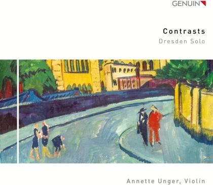 Johann Georg Pisendel, Manfred Weiss & Annette Unger - Contrasts