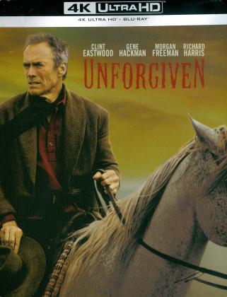 Unforgiven (1992) (Limited Edition, Remastered, Steelbook, 4K Ultra HD + Blu-ray)