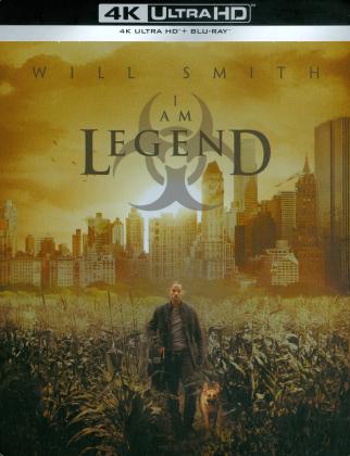 I Am Legend (2007) (Alternate Cut, Kinoversion, Limited Edition, Steelbook, 4K Ultra HD + Blu-ray)