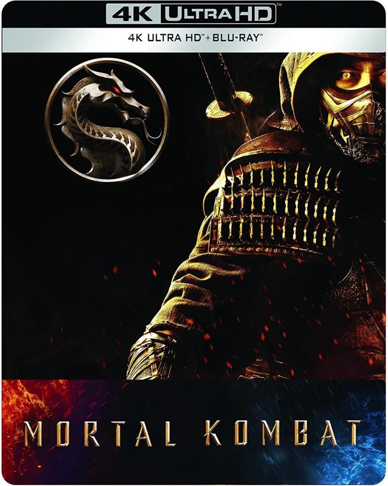 Mortal Kombat (2021) (Edizione Limitata, Steelbook, 4K Ultra HD + Blu-ray)