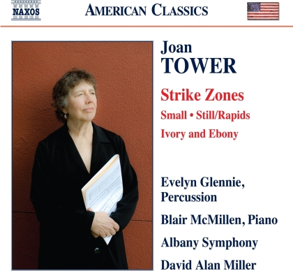 Joan Tower, David Alan Miller, Evelyn Glennie, Blair McMillen & Albany Symphony - Orchestral Works