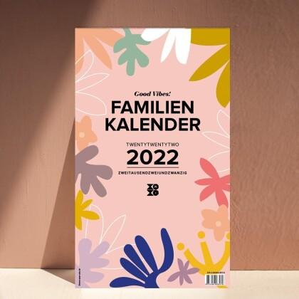 "Familienwandkalender 2022 ""Good Vibes!"""