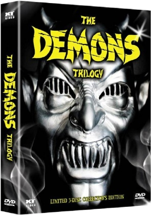 The Demons Trilogy - Demons 1-3 (Digipack, Collector's Edition Limitata, Uncut, 3 DVD)