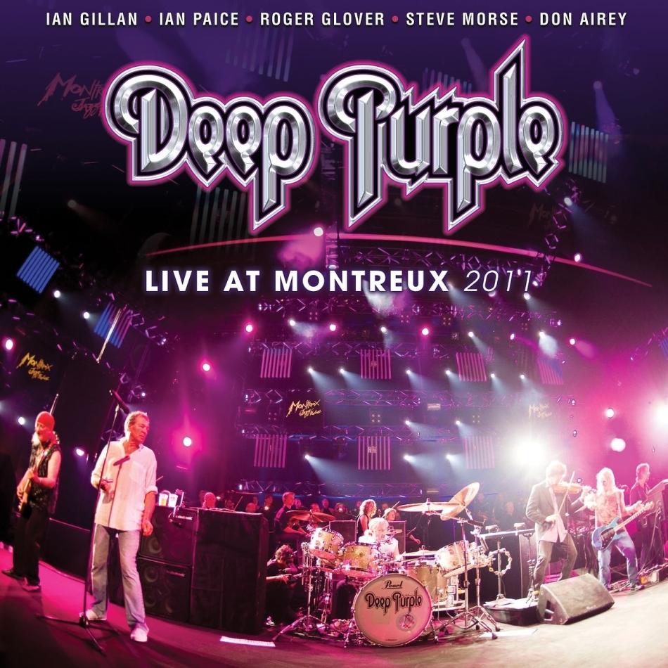 Deep Purple - Live At Montreux 2011 (2021 Reissue, Eagle Rock Entertainment, 2 CDs + DVD)