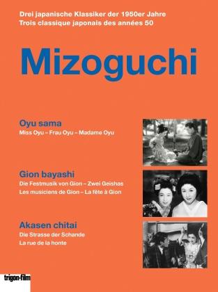 Mizoguchi - Oyu sama / Gion bayashi / Akasen chitai (Trigon-Film, 3 DVDs)