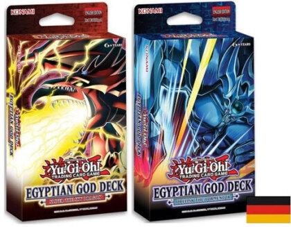 Yu Gi Oh!Struktur-D-Egyptian God 8-er<br>Struktur Deck 8-er deutsch