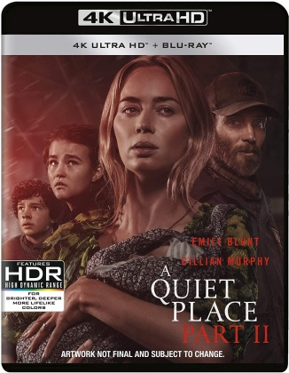 A Quiet Place - Part 2 (2020) (4K Ultra HD + Blu-ray)