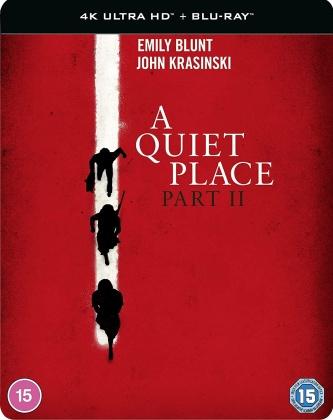 A Quiet Place - Part 2 (2020) (Steelbook, 4K Ultra HD + Blu-ray)