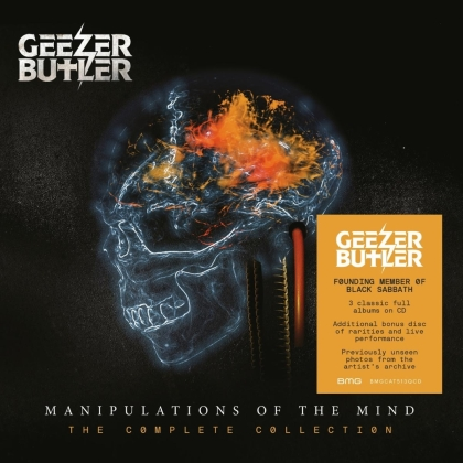 Geezer Butler (Black Sabbath) - Manipulations of the Mind-The Complete Collection (4 CDs)