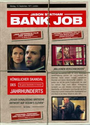 Bank Job (2008) (Cover B, Limited Edition, Mediabook, Blu-ray + DVD)