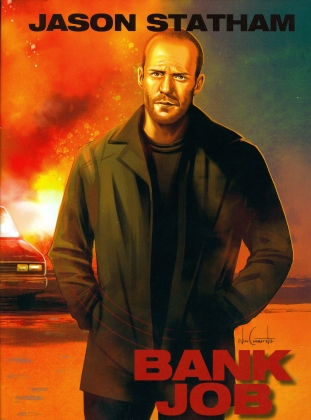 Bank Job (2008) (Cover A, Limited Edition, Mediabook, Blu-ray + DVD)