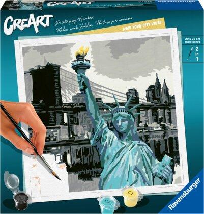Malset New York City, d/f/i - CreArt, Malen nach Zahlen,