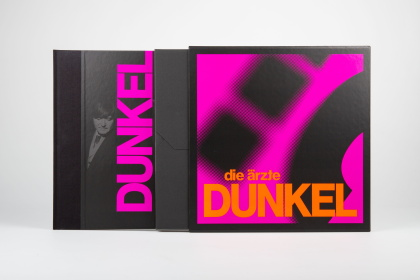 Die Ärzte - DUNKEL (Im Schuber Mit Girlande, Limited Edition, 2 LPs + Digital Copy)