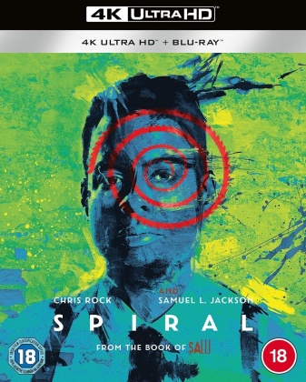 Spiral - From The Book Of Saw (2021) (4K Ultra HD + Blu-ray)