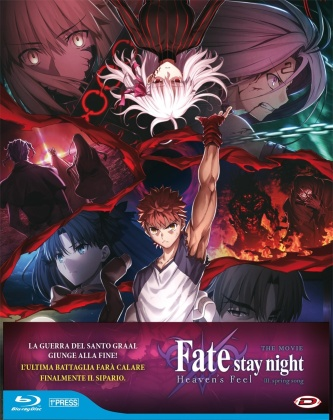 Fate/Stay Night: Heaven's Feel - The Movie III - Spring Song (2020) (First Press Limited Edition)