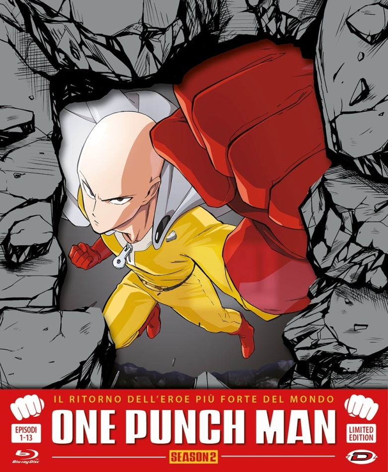 One Punch Man - Season 2 (Limited Edition, 3 Blu-rays)