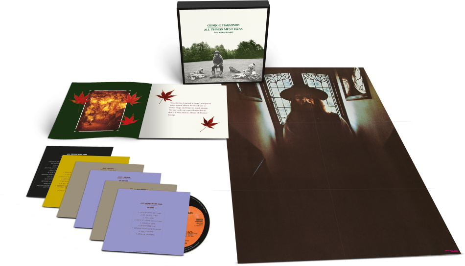 George Harrison - All Things Must Pass (2021 Reissue, Super Deluxe, Boxset, 5 CDs + Blu-ray)